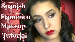 spanish flamenco dancer inspired makeup