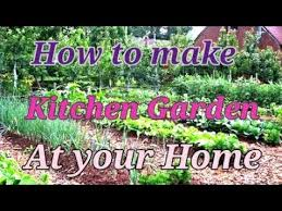 how to make a small kitchen garden at