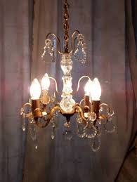 crystal chandelier lighting with glass