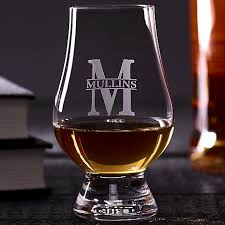 monogrammed scotch glasses s to