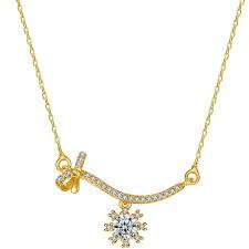 jewelry flowers charm necklaces