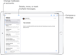 Write an email in Mail on iPad - Apple ...