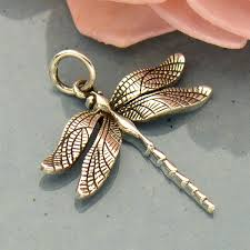 sterling silver dragonfly charm nina