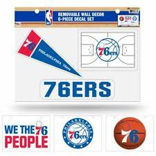 Philadelphia 76ers Nba Decals For Sale Ebay