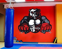 Mma Wall Decal Etsy
