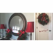 Holiday Vinyl Decal Great For Mirrors Doors More Jane