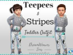 sims 4 clothing sets toddler clothes