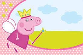 Convite Peppa Pig Prontos Para Editar E Imprimir Invitaciones