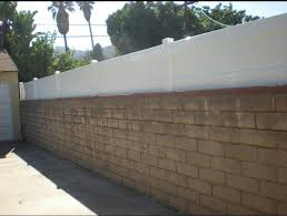 Block Wall Fence Toppers Fence Toppers Vinyl Fence Brick Fence