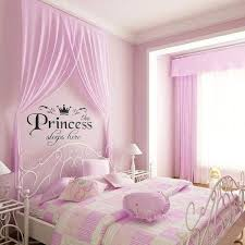 Removable Princess Sleeps Here Wall Stickers Art Vinyl Decals Girls Ro Nicerin Best Goods Free Shipping