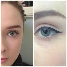 eye makeup for downturned eyes cat