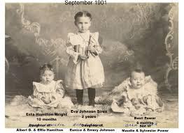 Eldon H. (b. 1891) & Esta A. [Hamilton] Wright | Wright Family Genealogy  Home