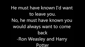 harry potter quotes of inspiration and knowledge i stand alone