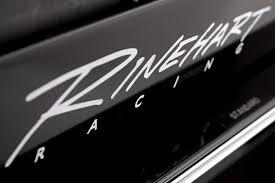 Vinyl Decal Rinehart Racing