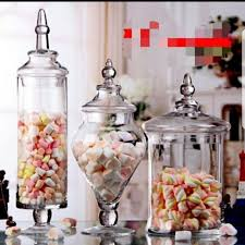 bn apothecary glass jars for party