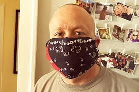 Simple Mask with a Bandana & Rubber Bands