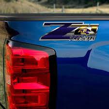 Ravens Z71 Truck Decals Chevy Silverado Baltimore Nfl Sticker