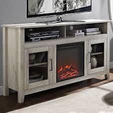 58 wood highboy electric fireplace