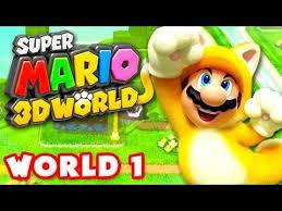 super mario 3d world walkthrough part