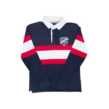 tommy hilfiger collar rugby shirt
