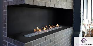 the h series corner style fireplace