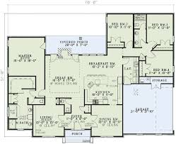 neo traditional 4 bedroom house plan