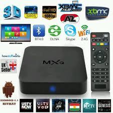MXQ 4k Android TV Box Quad Core Fully Loaded Kodi 16.1 HD Media Player  Streamer | eBay | Android wifi, Smart tv, Smart box
