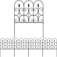 Buy Amagabeli Decorative Garden Fence Best Metal Fence Online