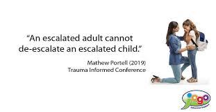 KinderKARE - An escalated adult cannot de-escalate an... | Facebook