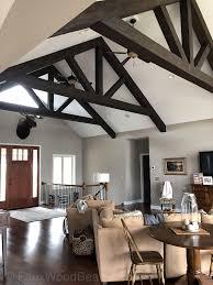 a frame ceilings ideas with beams
