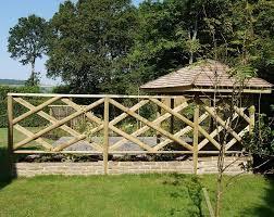 Half Round Rails 100mm Tanalised Landscaping Devon And Cornwall