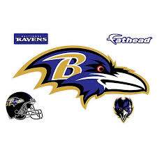 Fathead Nfl Baltimore Ravens Logo Large Wall Decal Bed Bath Beyond