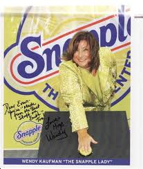Wendy+Kaufman+(the+Snapple+lady) Pictures, Images & Photos   Photobucket