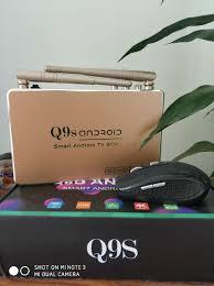 Đầu Android tivi box Q9s Kèm Chuột Không Dây Trải nghiệm tivi, video 4K, âm  thanh trung thực.