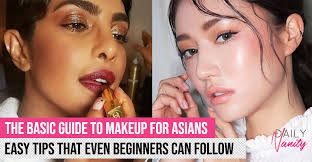 simple and basic makeup steps for