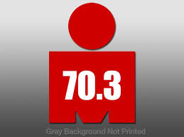 Red 70 3 Mdot Sticker Ironman Run Swim Bike Decal Tri M Dot 70 3 On Popscreen