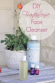 diy frankincense face cleanser
