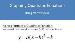 ppt graphing quadratic equations