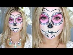 sugar skull makeup tutorial shaaanxo