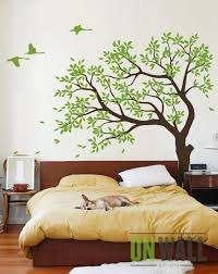 Large Tree Vinyl Decal Nursery Vinyl Wall Decal Tree Wall Etsy
