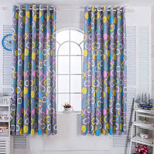 Modern Multicolor Circle Curtains For Kids Room Window Ultra Thin Door Short Curtain For Kitchen Cute Roman Blinds For Bedroom Curtains Aliexpress
