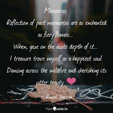memories reflection of p quotes writings by roopal sharma