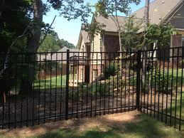 Steel And Aluminum Fence Installation Select Fence Group