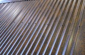 Steelscape Natural Rust Corrugated Metal Roofing Panels