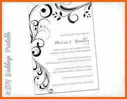 invitation templates word