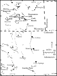 outcrops of morrison formation in