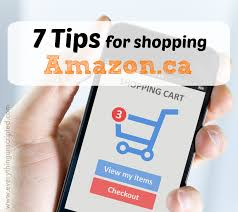 7 Tips for Shopping on Amazon.ca