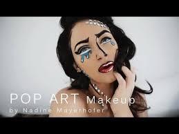 pop art glam makeup tutorial you