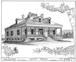 elevations bale plantation house