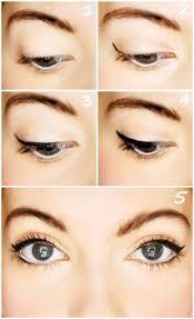 easy simple eye makeup cat eye makeup